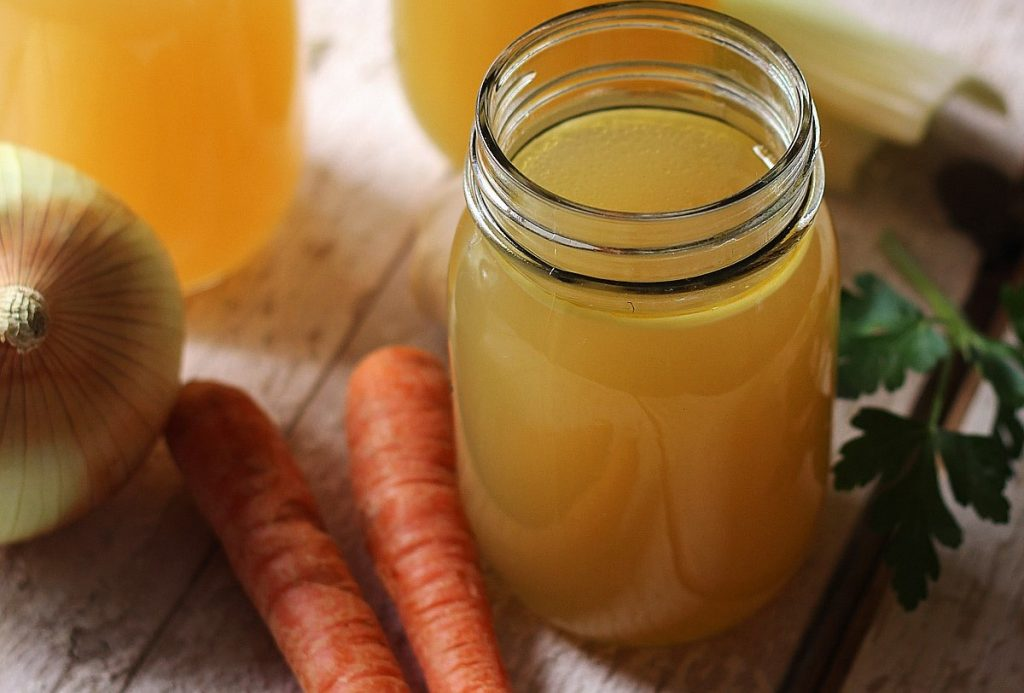 Chicken Bone Broth Chicken Stock Double Up On Flavour And Value