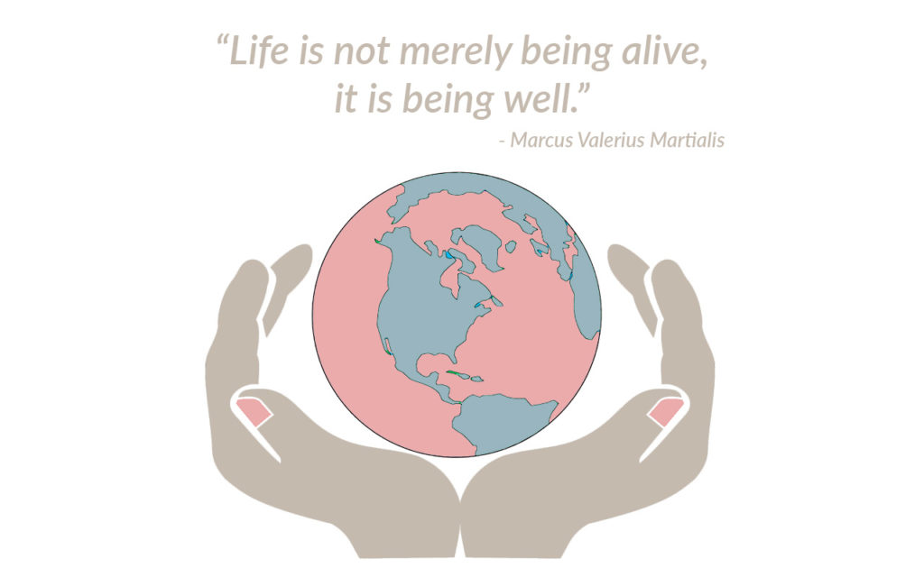 life is not merely being alive it is about being well