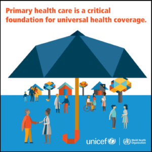 primary healthcare is a critical foundation for universal health coverage